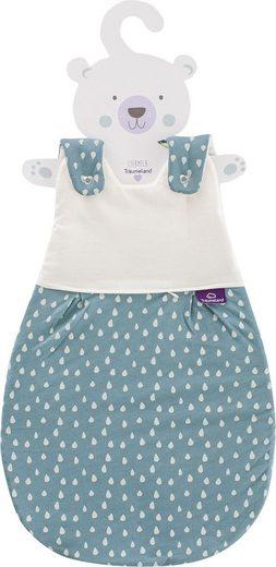 Träumeland Babyschlafsack »Set Tropfen Ozeanblau« (Packung, 3 tlg., 3er-Pack)