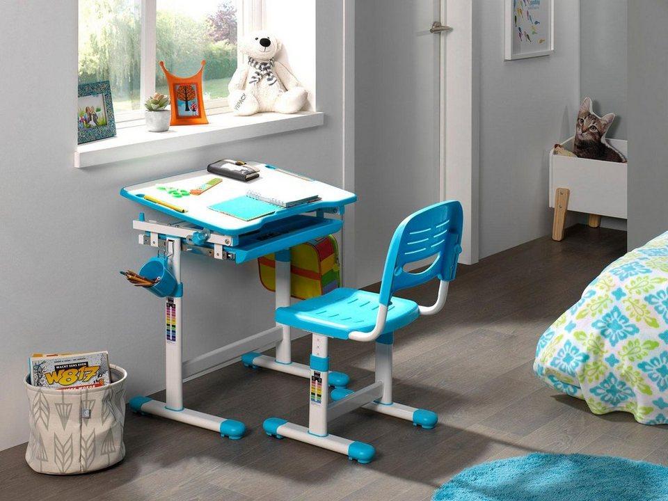 vipack kinder schreibtisch und stuhl comfortline. Black Bedroom Furniture Sets. Home Design Ideas
