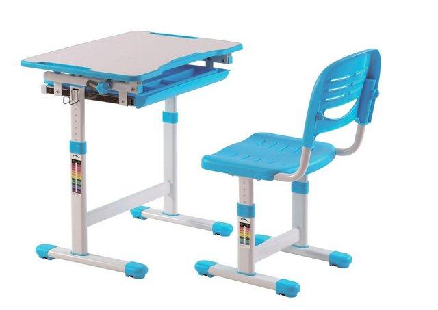Kindertische - Vipack Kinderschreibtisch »Comfortline« (Set, mit Stuhl), ergenomisch höhenverstellbar  - Onlineshop OTTO