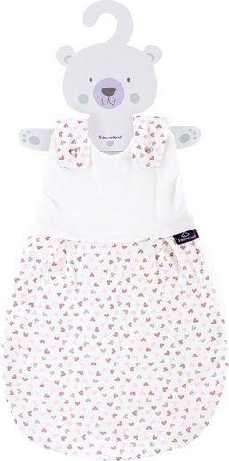 Träumeland Babyschlafsack »Außenschlafsack Herz rosa« (1 tlg)