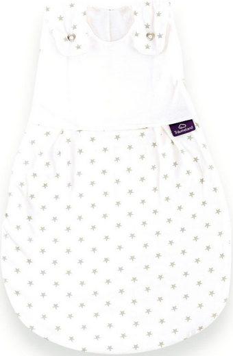 Träumeland Babyschlafsack »Außenschlafsack Sternchen grau« (1 tlg)