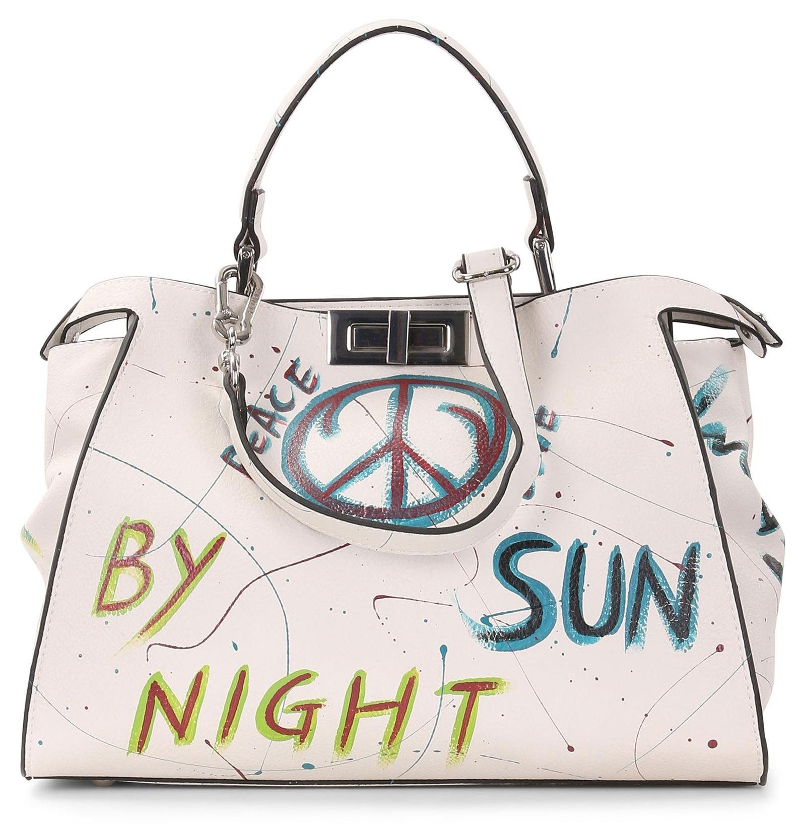 SURI FREY Shopper »Joy - Peace«, mit modischem Print