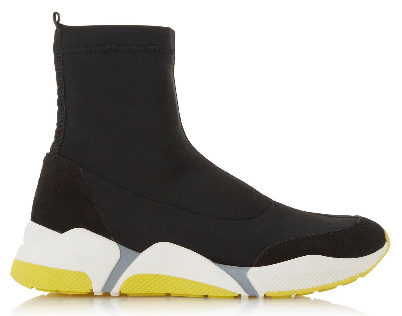 dune london -  »Erela Colour Pop High Top Sock Sneaker« Sneaker mit Stretch-Schaft