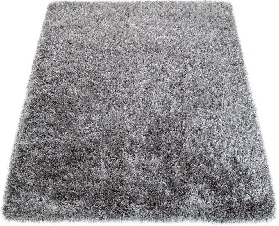 Hochflor-Teppich »Glamour 300«, Paco Home, rechteckig