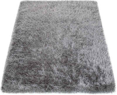 Hochflor Teppich Glamour 300 Paco Home Rechteckig Hohe 70 Mm