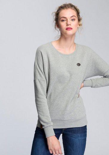 naketano Sweatshirt »2 Stunden Sikis Sport« mit lässig überschnittenen Schultern