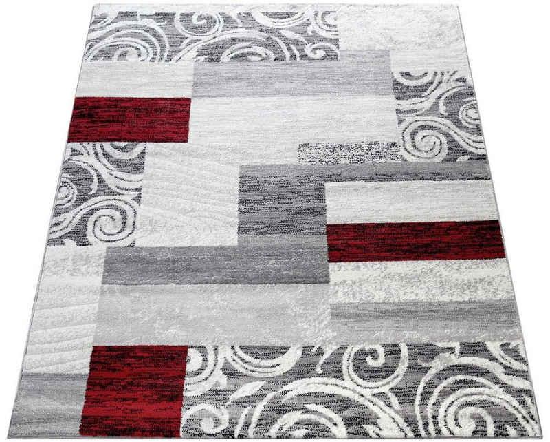 Teppich »Sinai 053«, Paco Home, rechteckig, Höhe 9 mm, Kurzflor, Patchwork Design, mit Ornamenten, Wohnzimmer