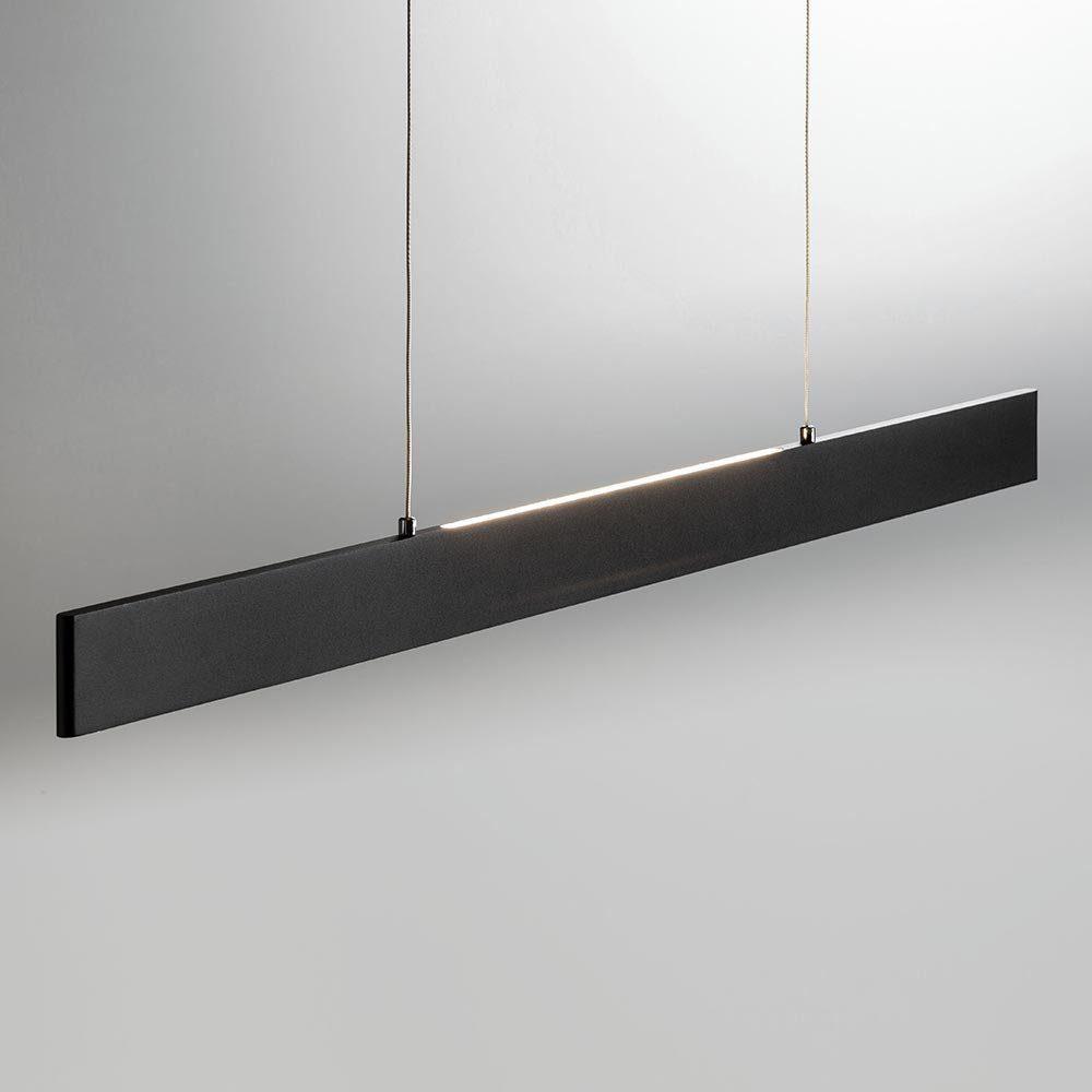Licht-Trend Hängeleuchte »Slim LED mit 3040lm Lumen in Schwarz«