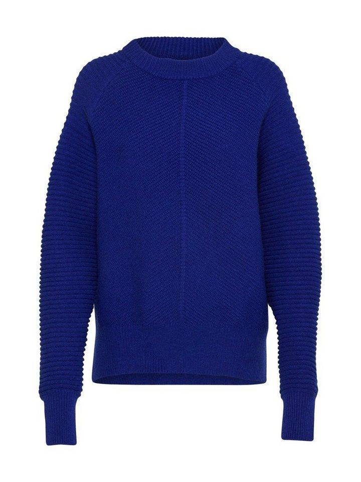 Damen Y.A.S  Strickpullover blau | 05713743211248