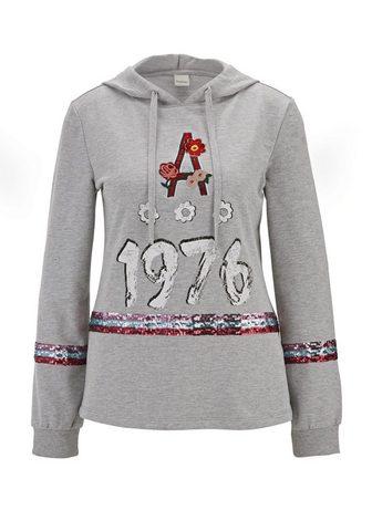 HEINE CASUAL Sportinio stiliaus megztinis im...