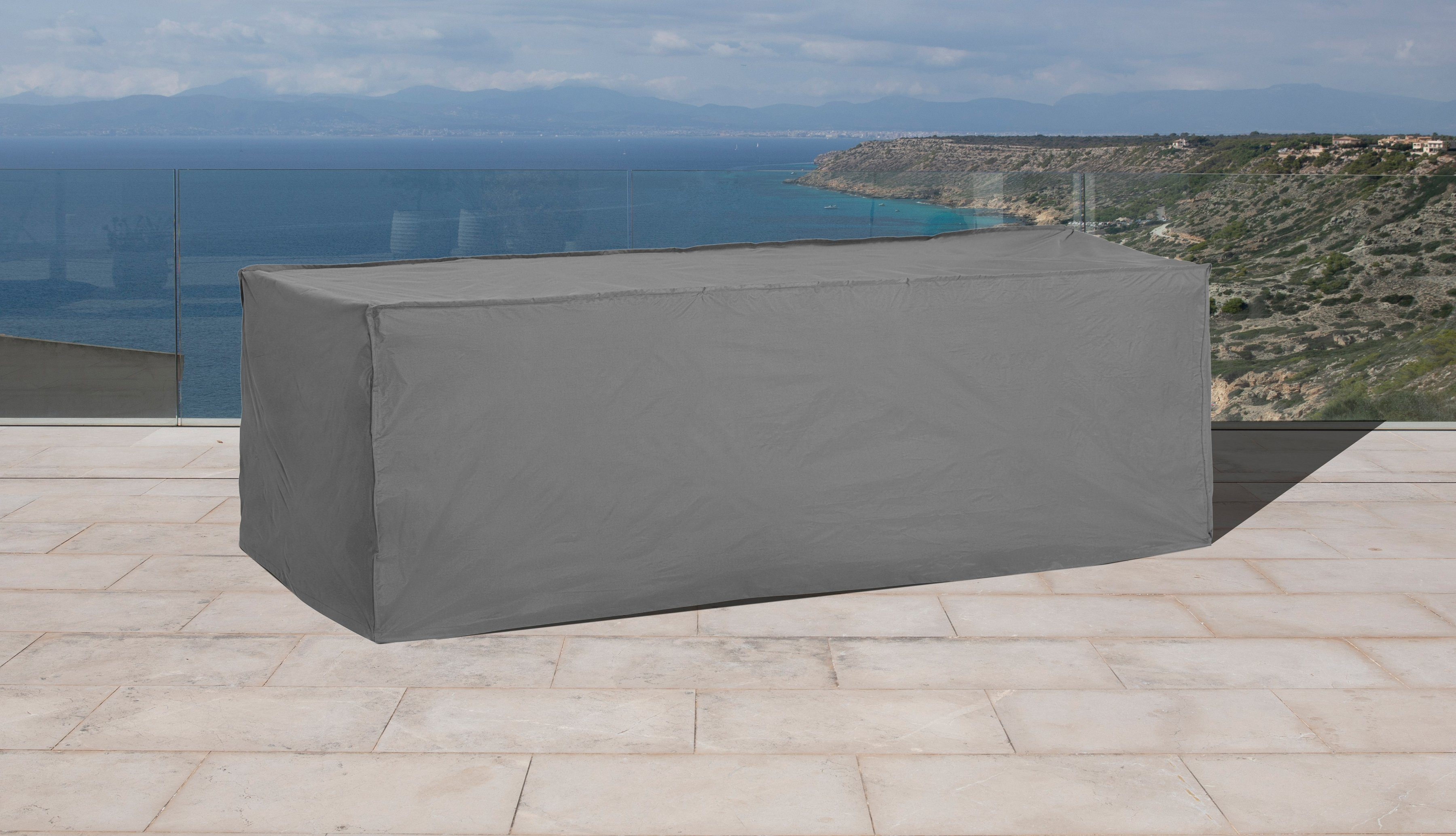 KONIFERA Schutzhülle Loungebett, (L/B/H): ca. 198x85x76 cm