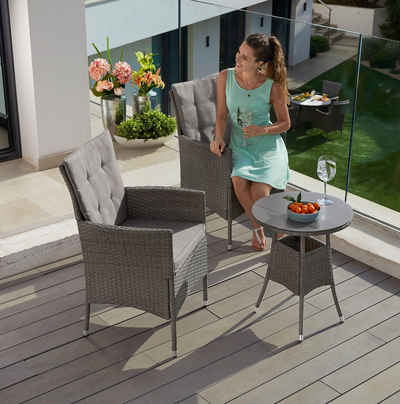Gartenmobel Set In Grau Online Kaufen Otto
