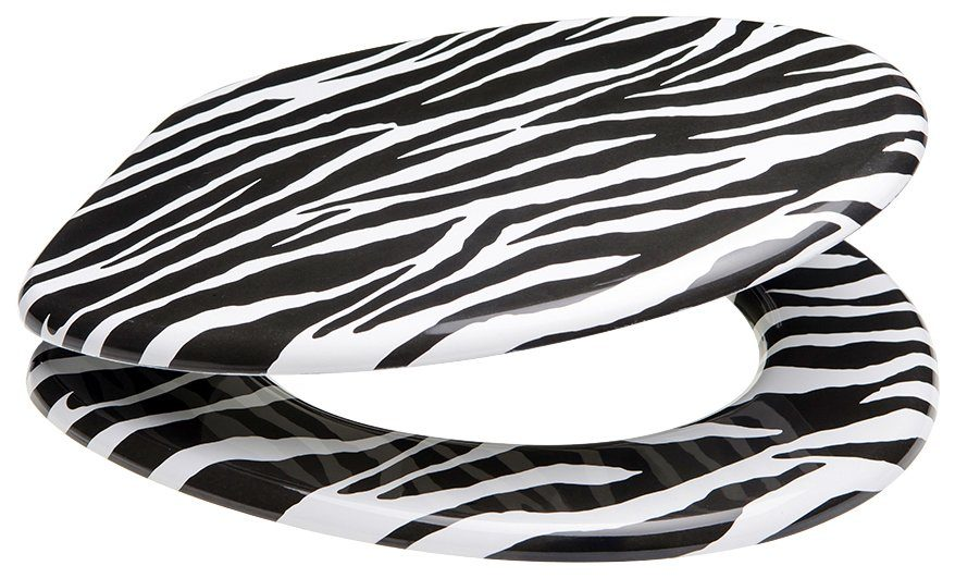 SANILO WC-Sitz »Zebra Look«