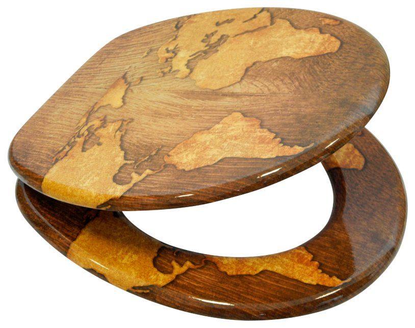 SANILO WC-Sitz »World Map«