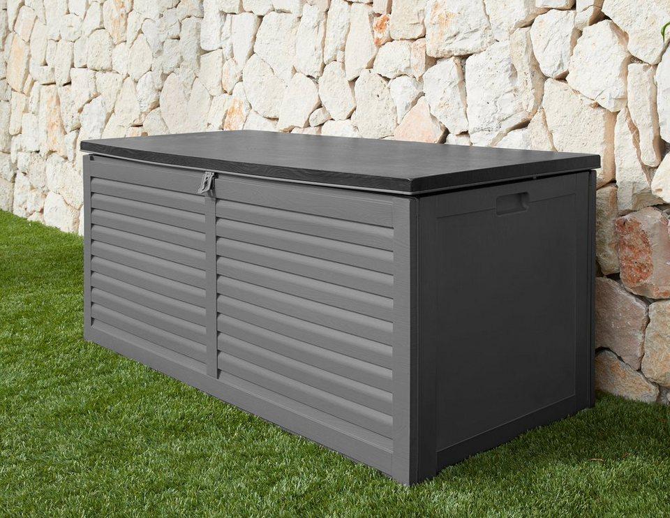 Hervorragend GARTENGUT Auflagenbox 146,6x64,4x61 cm, hellgrau   OTTO HY14