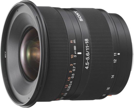 Sony Objektiv »A-Mount-Objektiv 11-18 mm, F4.5-5.6 SAL1118«