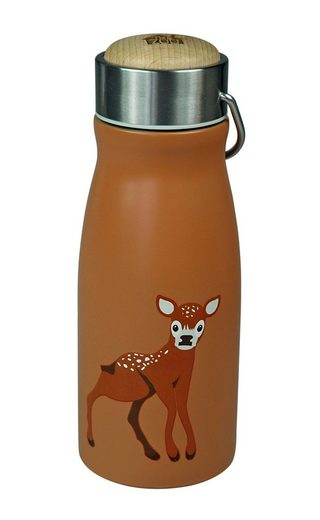 "Capventure Trinkflasche »The Zoo Edelstahl Kinder Isolierflasche Thermoskanne Thermosflasche ""Waldtiere"" Auswahl: Reh«"