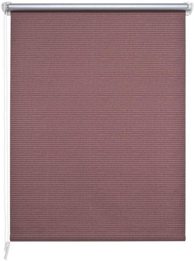 Seitenzugrollo »Klemmfix-Thermo-Rollo Bambus Optik«, Liedeco, verdunkelnd, ohne Bohren