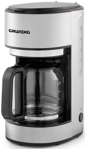 Grundig Filterkaffeemaschine KM 5620, 1,25l Kaffeekanne, Permanentfilter