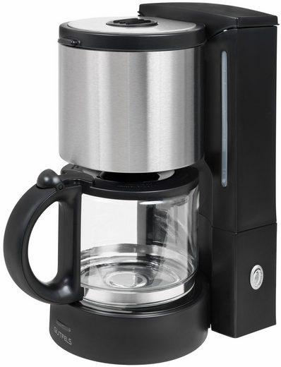 Gutfels Filterkaffeemaschine KA 8101 swi, 1,25l Kaffeekanne, Papierfilter 1x4