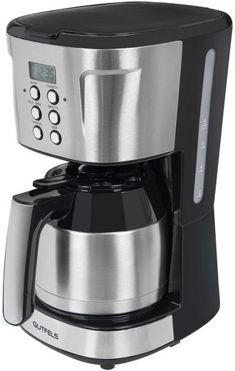 Gutfels Filterkaffeemaschine KA 8103 swi, 1,25l Kaffeekanne, Papierfilter 1x4