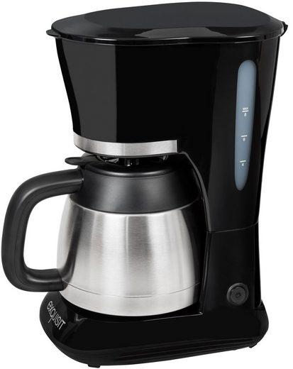 exquisit Filterkaffeemaschine KA 6501 sw, 1l Kaffeekanne, Papierfilter 1x4