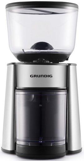 Grundig Kaffeemühle CM 6760, 130 W, Scheibenmahlwerk, 350 g Bohnenbehälter