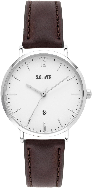 s.Oliver RED LABEL Quarzuhr »SO-3601-LQ«