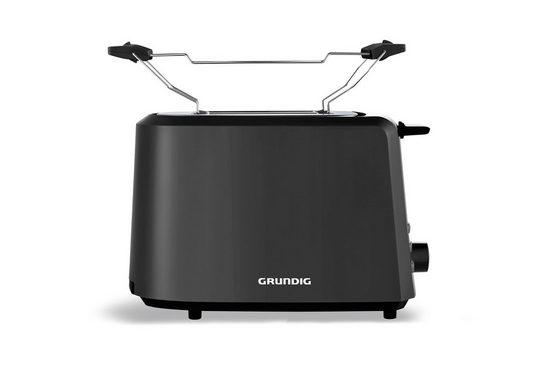 Grundig Toaster TA 4620, 2 kurze Schlitze, 850 W