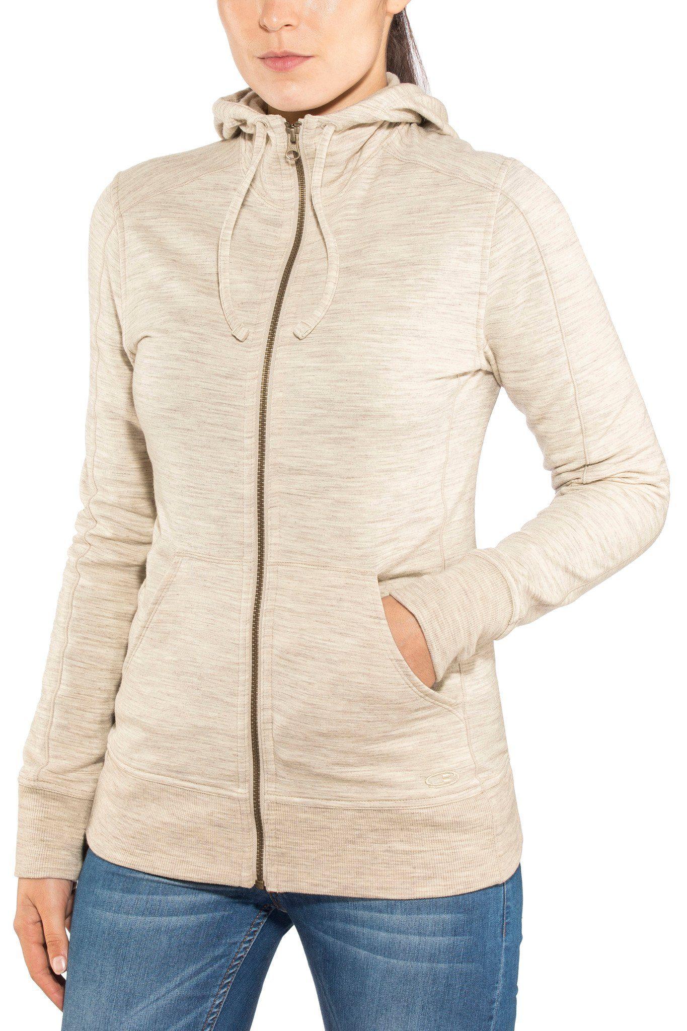 Icebreaker Outdoorjacke »Dia LS Zip Hood Jacket Women«