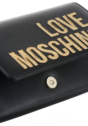 Moschino Modischer Tragekette Love Umhängetasche Mit Spx40