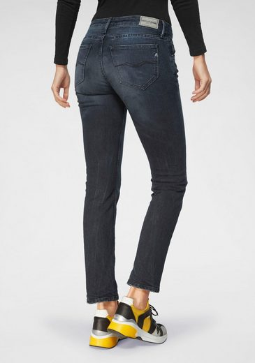 Replay Straight-Jeans »JACKSY LASERBLAST« mit besonderer Waschung