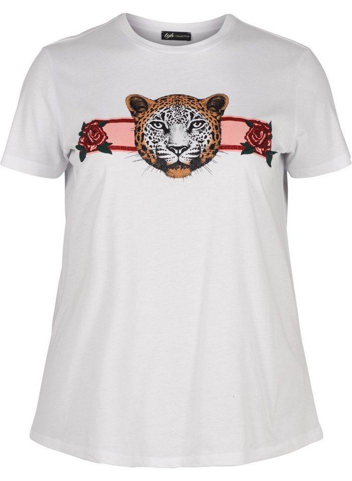 Zizzi Print-Shirt | Bekleidung > Shirts > Print-Shirts | Weiß | Zizzi