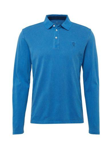 TOM TAILOR Langarmshirt »Langarm-Poloshirt«