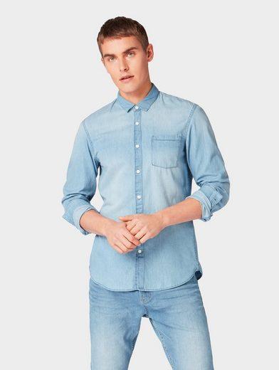 TOM TAILOR Denim Hemd »Jeanshemd mit Brusttasche«