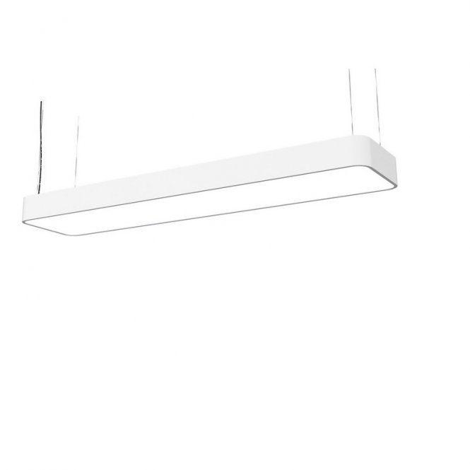 Licht-Trend Deckenleuchte »Talu LED 90x20cm in Weiss«