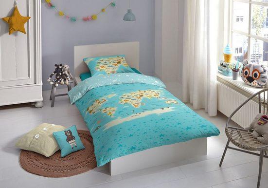 Bettwäsche »good morning Renforcé Kids Bettwäsche 2 teilig«, good morning