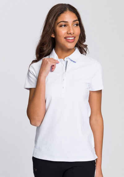 BASEFIELD Poloshirt mit dezenter Logostickerei 556f0887be
