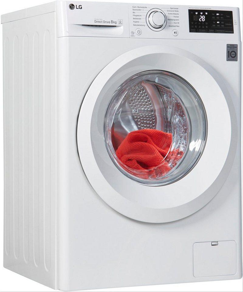 lg waschmaschine f 14wm 8lno 8 kg 1400 u min otto. Black Bedroom Furniture Sets. Home Design Ideas