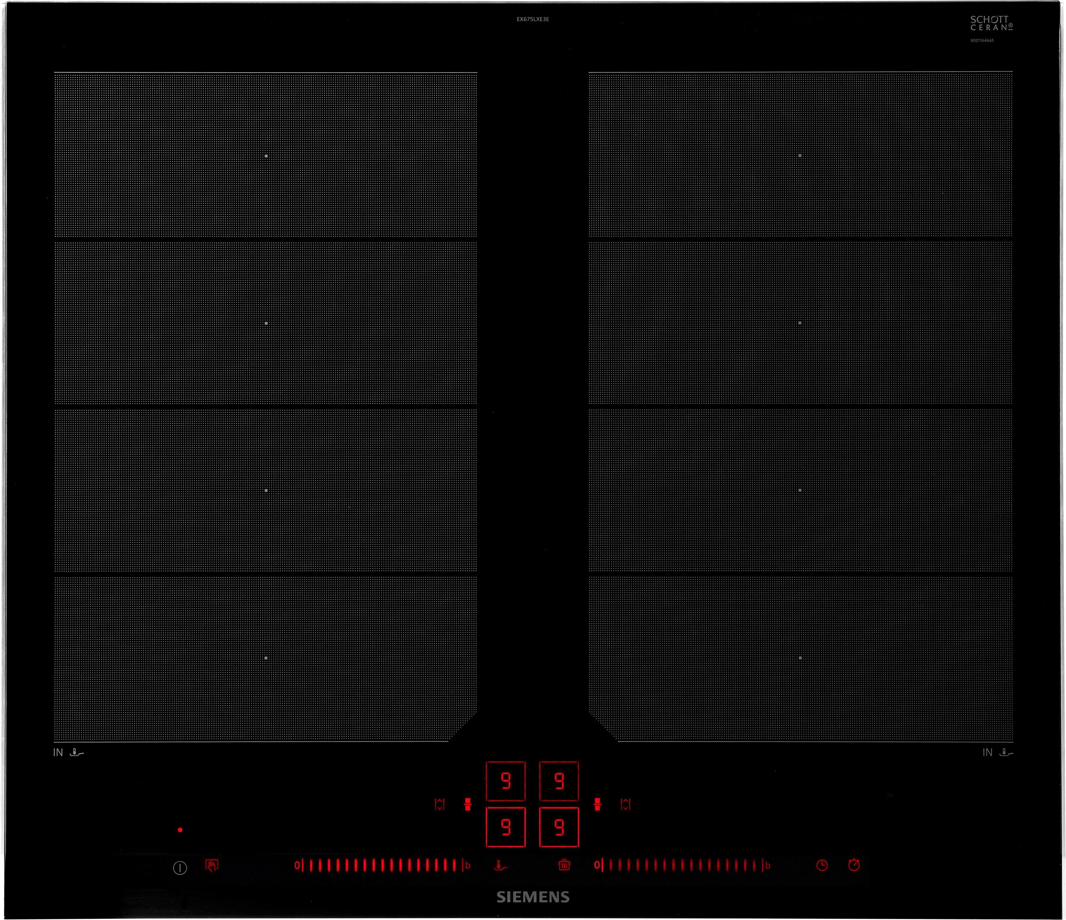 SIEMENS Flex-Induktions-Kochfeld von SCHOTT CERAN® EX675LXE3E EX675LXE3E