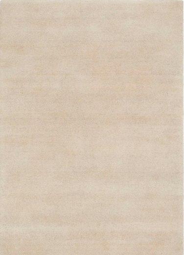 Teppich »Avantgard Uni«, OCI DIE TEPPICHMARKE, rechteckig, Höhe 9 mm, handgeknüpft