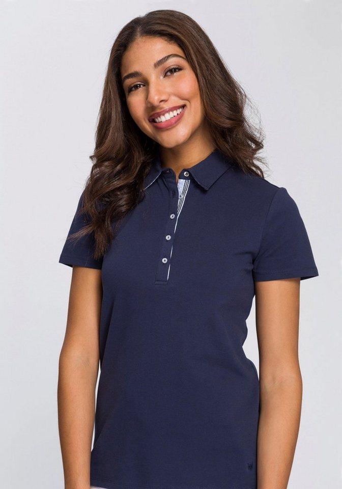 BASEFIELD Poloshirt mit dezenter Logostickerei   OTTO f6d60cc78b