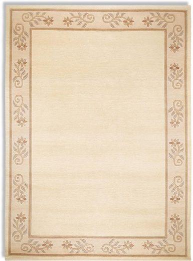 Wollteppich »Excellent Vario55«, OCI DIE TEPPICHMARKE, rechteckig, Höhe 20 mm, reine Wolle, handgeknüpft, Wohnzimmer