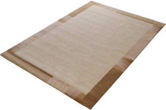 Teppich »Mandala Silk«, OCI DIE TEPPICHMARKE, rechteckig, Höhe 6 mm, handgeknüpft, Wohnzimmer