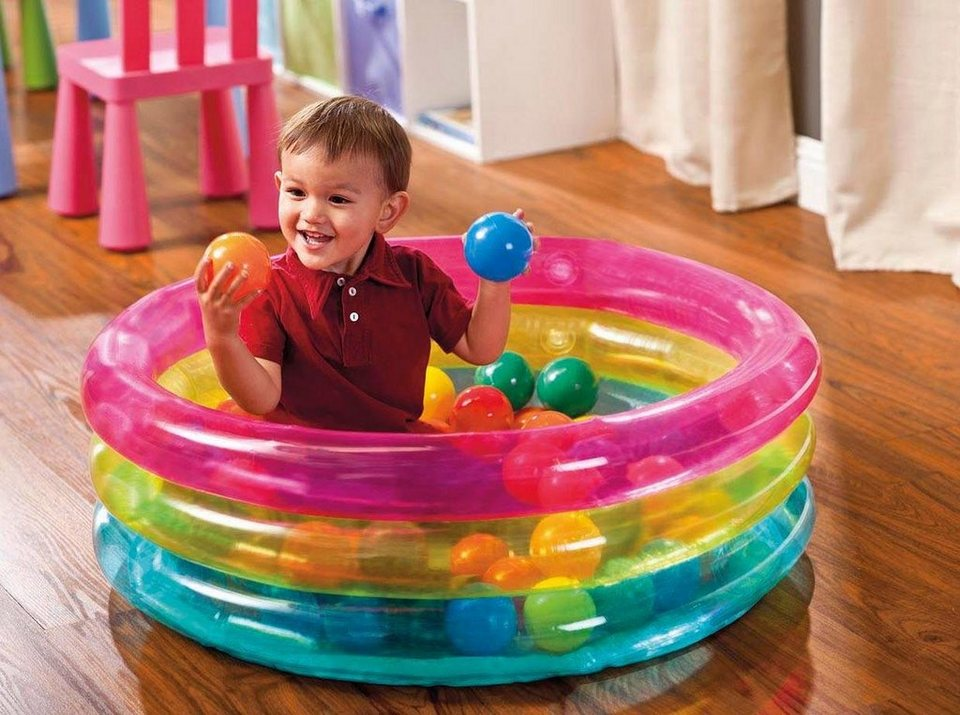 Intex Baby Bällebad,  Classic 3-Ring Baby Ball Pit  online kaufen