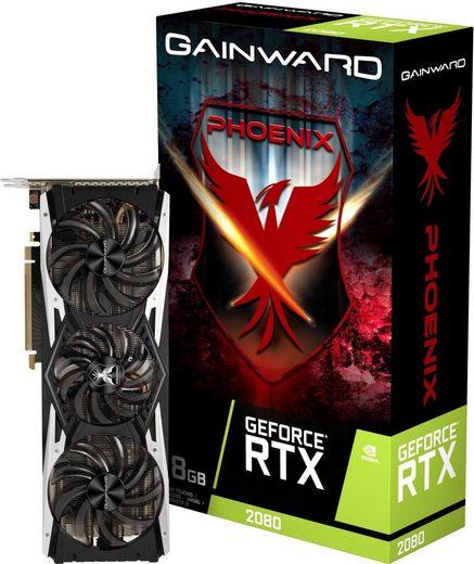 Gainward »GeForce RTX2080 Phoenix« Grafikkarte (8 GB, GDDR6)