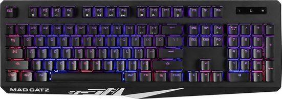 Mad Catz »S.T.R.I.K.E. 2« Gaming-Tastatur