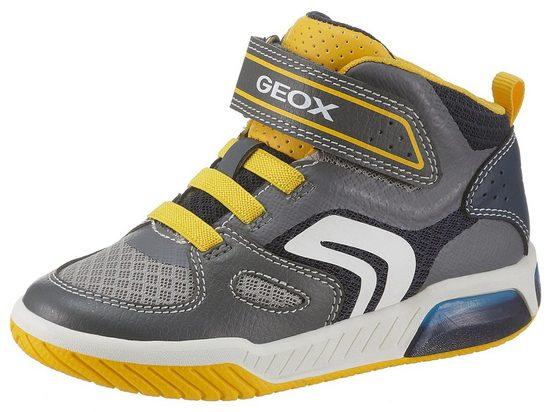 Geox Kids »J Inek Boy« Sneaker mit Blinkfunktion zum Ein- und Ausschalten