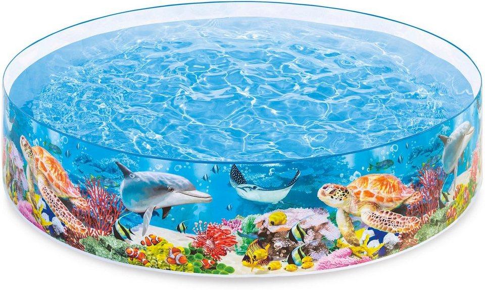 Intex Kinderpool,  Deep Blau Sea Snapset™ Pool