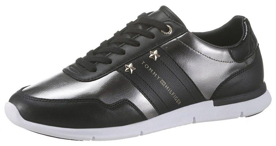 weltweit verkauft Schuhe für billige Neu werden TOMMY HILFIGER »SKYE« Sneaker im Metalliclook | OTTO
